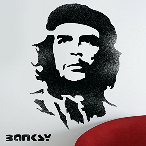 Banksy Che Guevara Schablone, Wand-Art Craft Malerei, ideal Schablonen, plastik, MEDIUM - 10.2 x 14 inches
