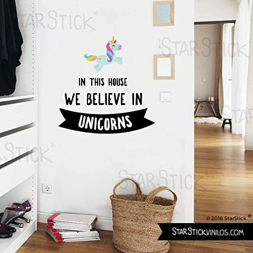 StarStick   this house we believe unicorns T3   Grande