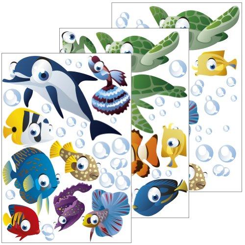 Wandtattoo Fische - Meeresfeeling für zu Hause