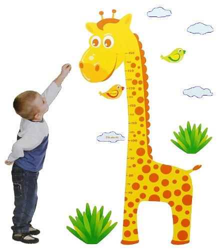 Wandtattoo Giraffe für Kinder- oder Wohnzimmer