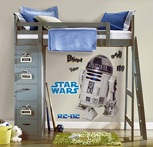 Joy Toy 15920 Wandtattoo groß  Star Wars R2 D2  2 mit 9 Elementenn