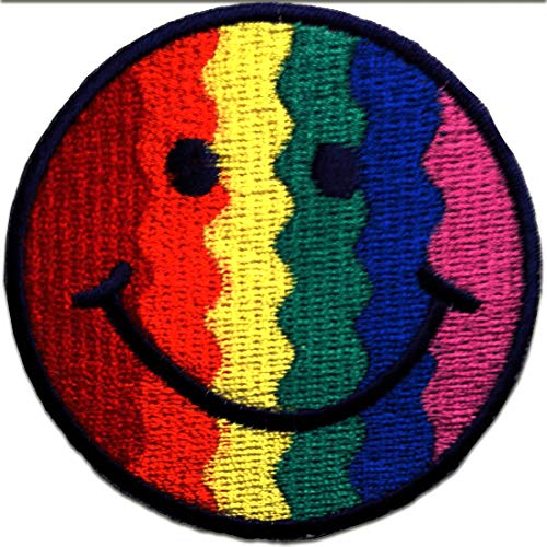 Smiley Patch Smiley Patches aufnäher Applikation Embroidered Iron on Kinder Patches Bügelbilder Aufbügler