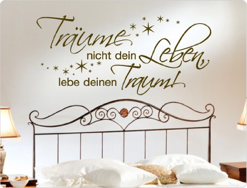 I love 10274 Spruch ,  Wanddekoration (Mint, 58 27)
