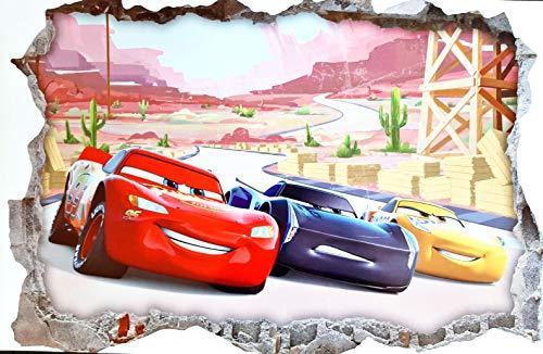 Disney Wandtattoo Cars In Xxl Und Verschiedenen Grossen