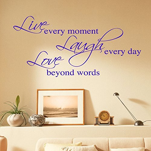 WALL STICKERS... Words/Quotes WANDAUFKLEBER WALL STICKER Decals