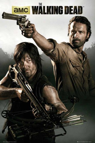 Walking Dead, The - Banner - Filmposter Kino Movie Gruselfilme - Grösse 61x91,5 cm + 1 Ü-Poster der Grösse 61x91,5cm