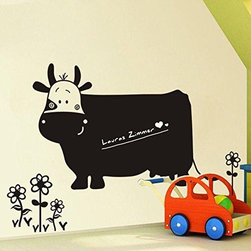 wandtattoo kuh. Black Bedroom Furniture Sets. Home Design Ideas