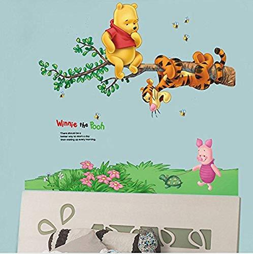 Winnie Pooh Wandtattoo klein oder XXL