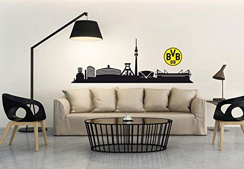 wandtattoo bvb 09 borussia dortmund. Black Bedroom Furniture Sets. Home Design Ideas
