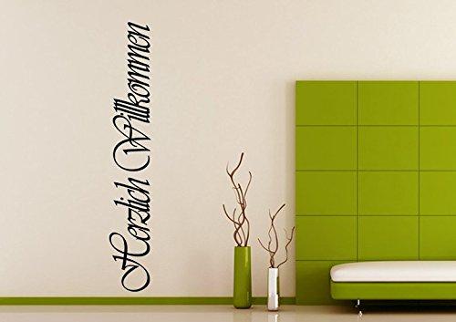 Wandaufkleber Aufkleber Wall Sticker Wohnzimmer Schlafzimmer Kinderzimmer 30 Farben Zur Wahl Wandtext Wandwort Wandspruch Spruch Zitat