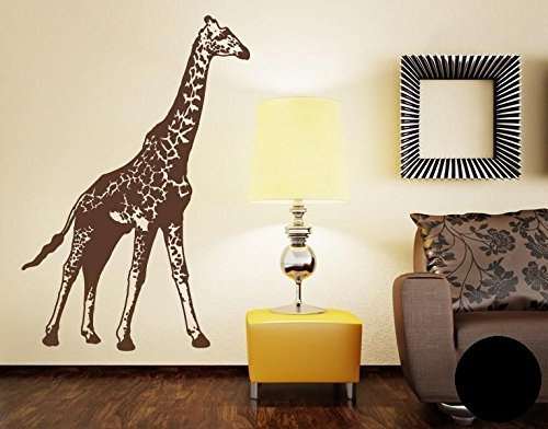 wandtattoo giraffe f r kinder oder wohnzimmer. Black Bedroom Furniture Sets. Home Design Ideas