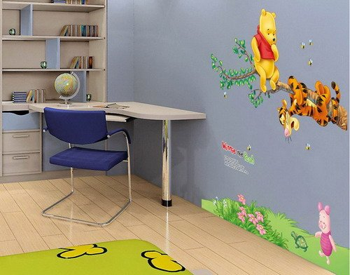 winnie pooh wandtattoo klein oder xxl. Black Bedroom Furniture Sets. Home Design Ideas