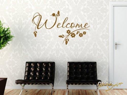 wandtattoo bl tter. Black Bedroom Furniture Sets. Home Design Ideas