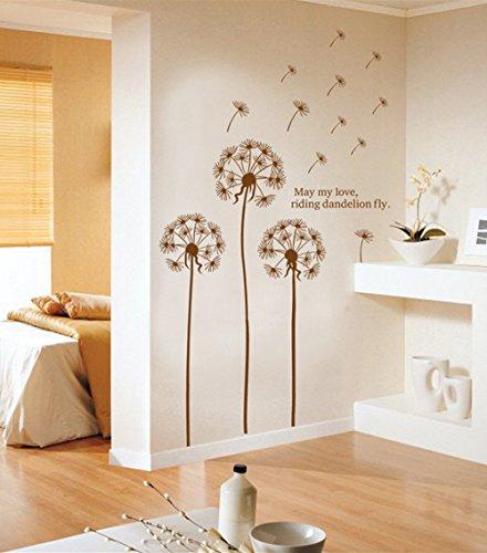 gro es wandtattoo l wenzahn pusteblume. Black Bedroom Furniture Sets. Home Design Ideas
