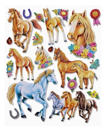 Wandtattoo pferd verschiedene motive for Deko sticker kinderzimmer