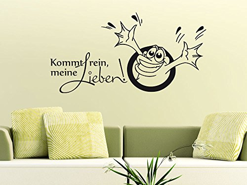 verschiedene wandtattoo mit frosch in der bersicht. Black Bedroom Furniture Sets. Home Design Ideas