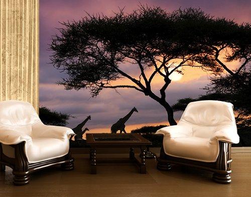wandtattoo safari. Black Bedroom Furniture Sets. Home Design Ideas