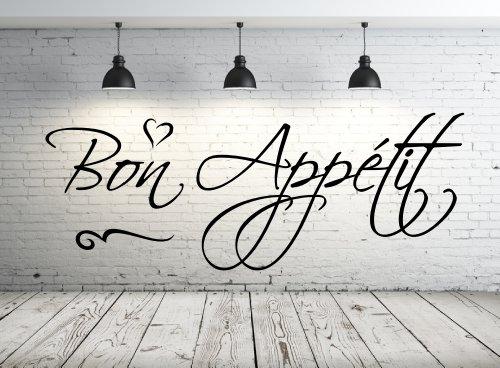 Wandtattoo Guten Appetit | Bon Appetit