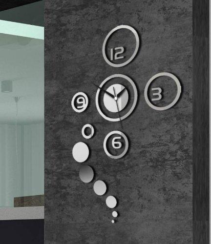 wandtattoo uhr. Black Bedroom Furniture Sets. Home Design Ideas