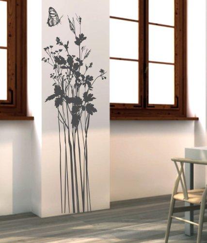 wandtattoo gras gr ser grashalme. Black Bedroom Furniture Sets. Home Design Ideas