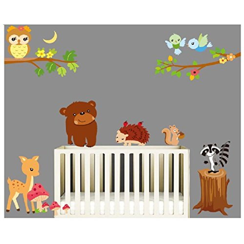 Baum Pflanzen Für Baby : wandtattoo kinderzimmer f r m dchen und jungen ~ Michelbontemps.com Haus und Dekorationen