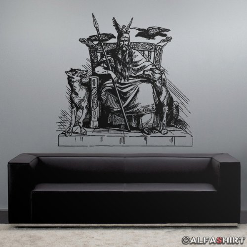 wandtattoo wolf. Black Bedroom Furniture Sets. Home Design Ideas