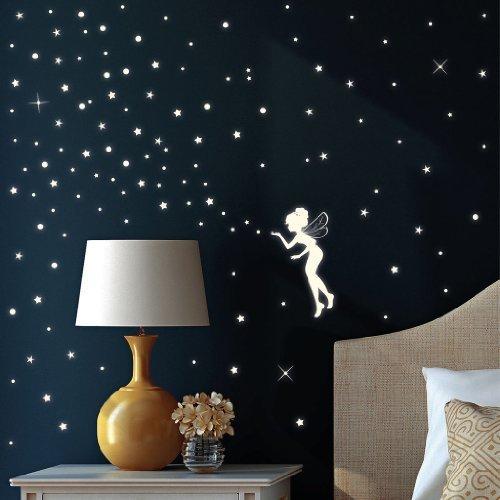 wandtattoo himmel sternenhimmel. Black Bedroom Furniture Sets. Home Design Ideas