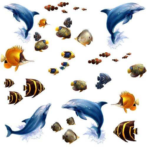 RoomMates   Wandsticker Unterwasserwelt 24 Sticker