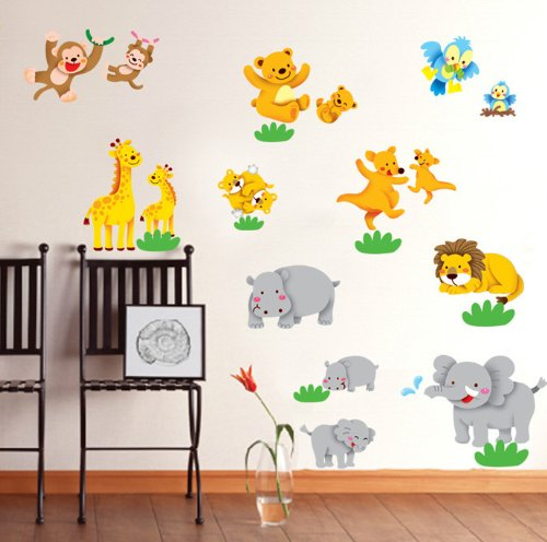 wandtattoo elefant f rs kinderzimmer oder wohnzimmer. Black Bedroom Furniture Sets. Home Design Ideas