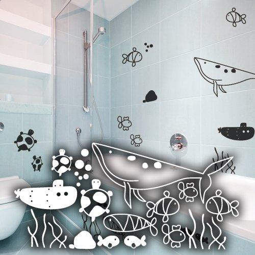 wandtattoo schildkr te. Black Bedroom Furniture Sets. Home Design Ideas