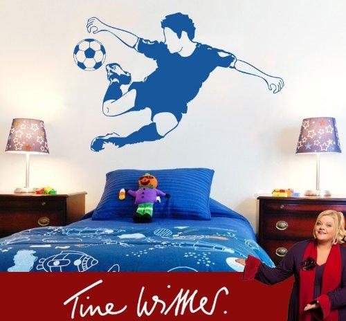 wandtattoo fussballer. Black Bedroom Furniture Sets. Home Design Ideas