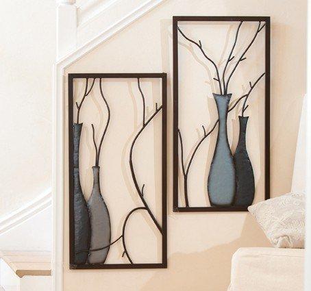 wandbilder metall silber ihr traumhaus ideen. Black Bedroom Furniture Sets. Home Design Ideas