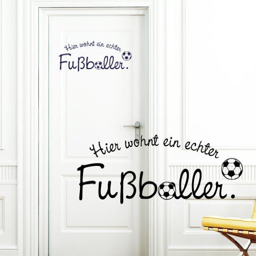 wandtattoo fussballtor. Black Bedroom Furniture Sets. Home Design Ideas
