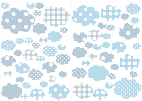 wandtattoo babyzimmer wolken reuniecollegenoetsele. Black Bedroom Furniture Sets. Home Design Ideas
