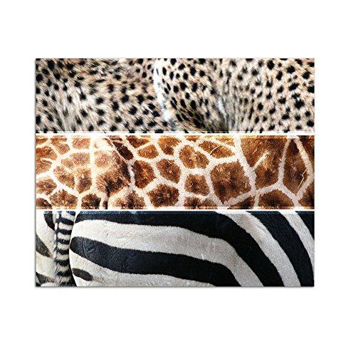zebra wohnzimmer:Wandsticker Sticker Wandtattoo für Wohnzimmer Zebra Giraffe Leopard