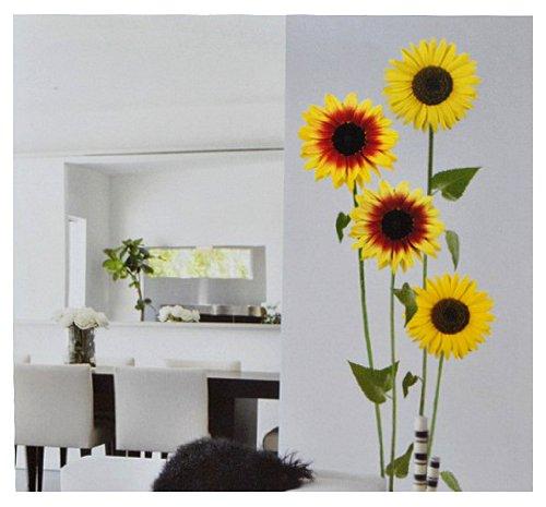 Wandtattoo blumen ornament lila schwarz for Deko sticker kinderzimmer