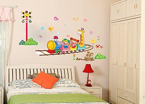 Wandtattoo Giraffe F R Kinder Oder Wohnzimmer