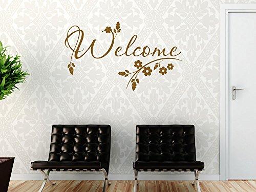 wandtattoo blumen ornament lila schwarz. Black Bedroom Furniture Sets. Home Design Ideas