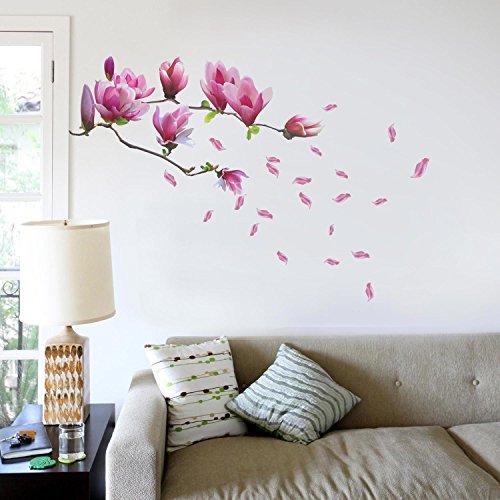Wandtattoo pflanzen ranke bl ten blumen - Disegni per muri di casa ...