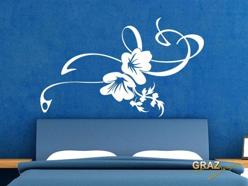 wandtattoo bl ten. Black Bedroom Furniture Sets. Home Design Ideas