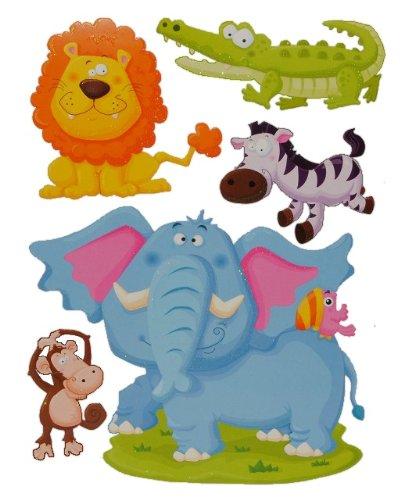 Wandtattoo elefant f rs kinderzimmer oder wohnzimmer for Fensterbilder kinderzimmer