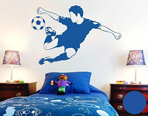 wandtattoo fu ball fussballvereine und fussballspieler. Black Bedroom Furniture Sets. Home Design Ideas