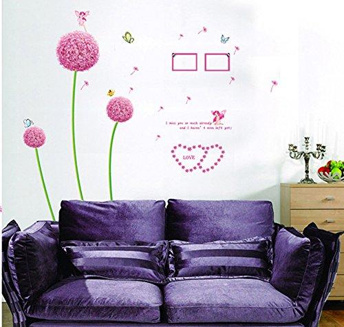 Gro es wandtattoo l wenzahn pusteblume for Wandbilder schlafzimmer