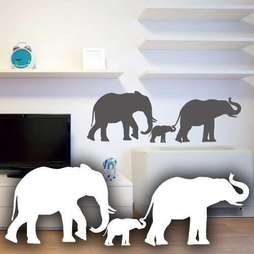 Wandtattoo Elefant Fürs Kinderzimmer Oder Wohnzimmer