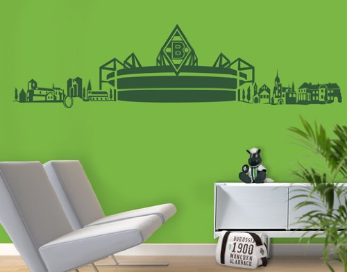 wandtattoo borussia m nchengladbach. Black Bedroom Furniture Sets. Home Design Ideas