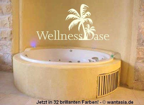 Wandtattoo Palme - Wandtattoos fürs badezimmer