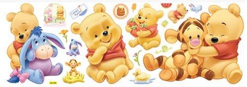 Wandtattoo Baby Winnie Pooh Badezimmer Ideen 2012