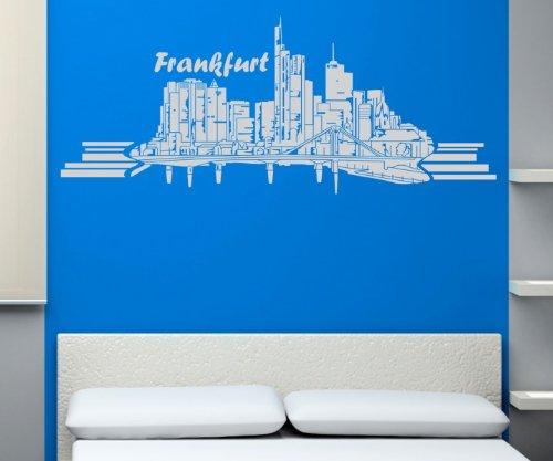 super wandtattoo frankfurt am main skyline. Black Bedroom Furniture Sets. Home Design Ideas