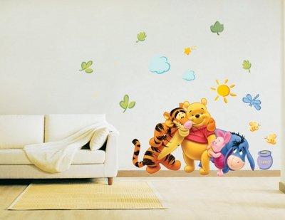 Winnie pooh wandtattoo klein oder xxl - Winnie pooh deko ...