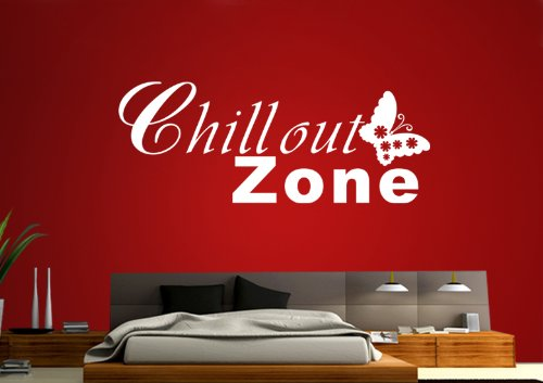 wandtattoo chillout. Black Bedroom Furniture Sets. Home Design Ideas
